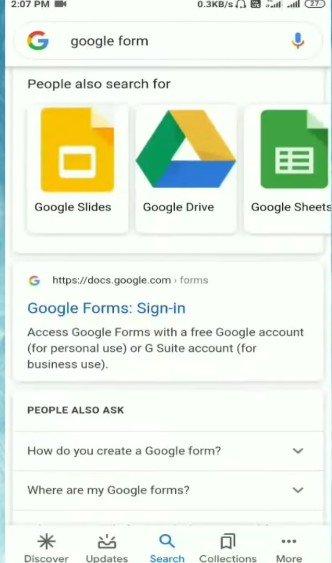 मोबाइल से गूगल फॉर्म (Google Form) कैसे बनाये।